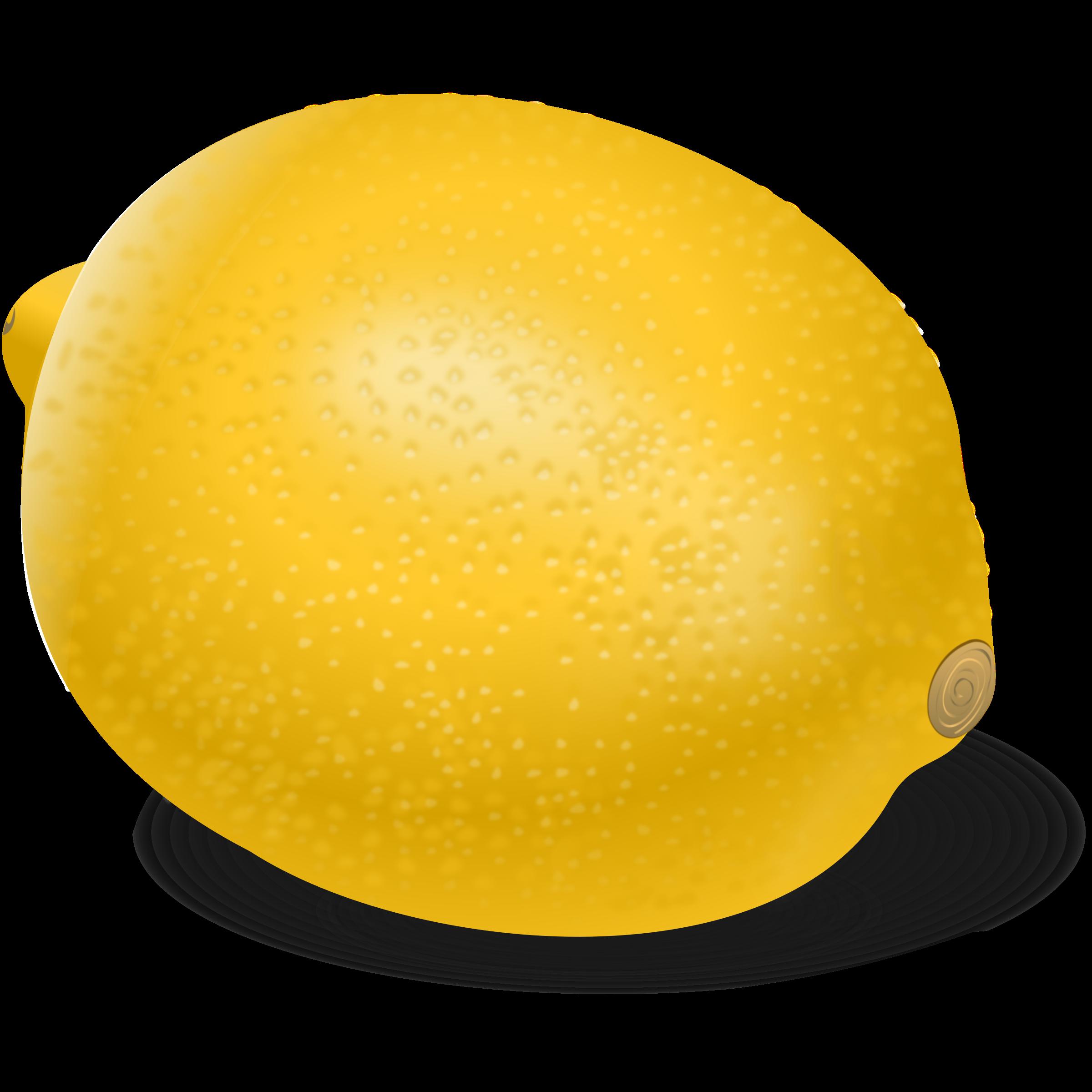 Fruit clipart lemon.