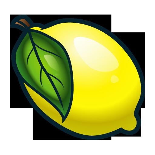 Lemon fruit png.