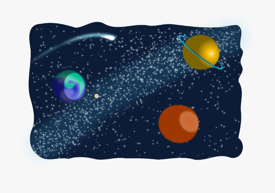 Planet clipart galaxy.