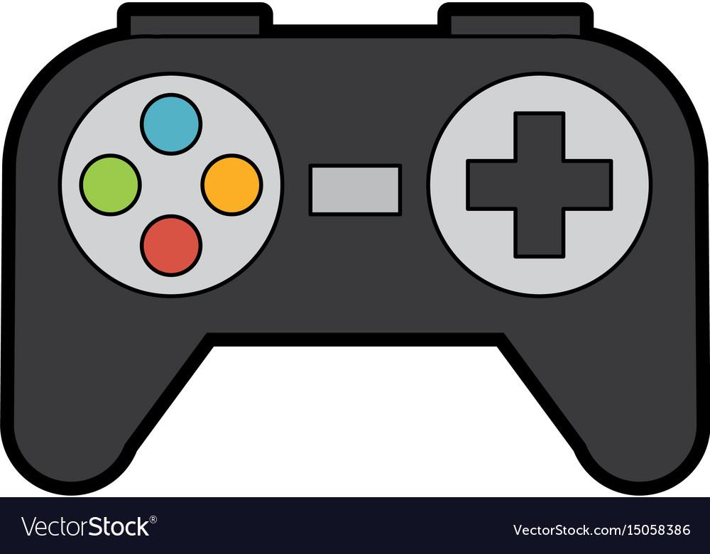 Cartoon gaming controller.