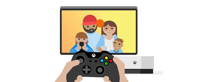 Xbox family settings.