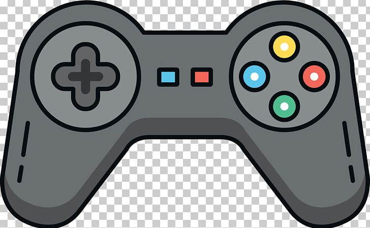 Playstation joystick game.