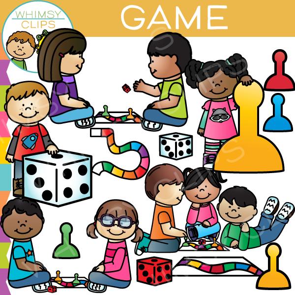 Game kids clip.