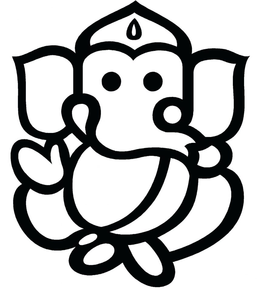 Ganesh cliparts free.