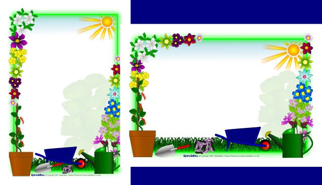 Free Planting Cliparts Border, Download Free Clip Art, Free