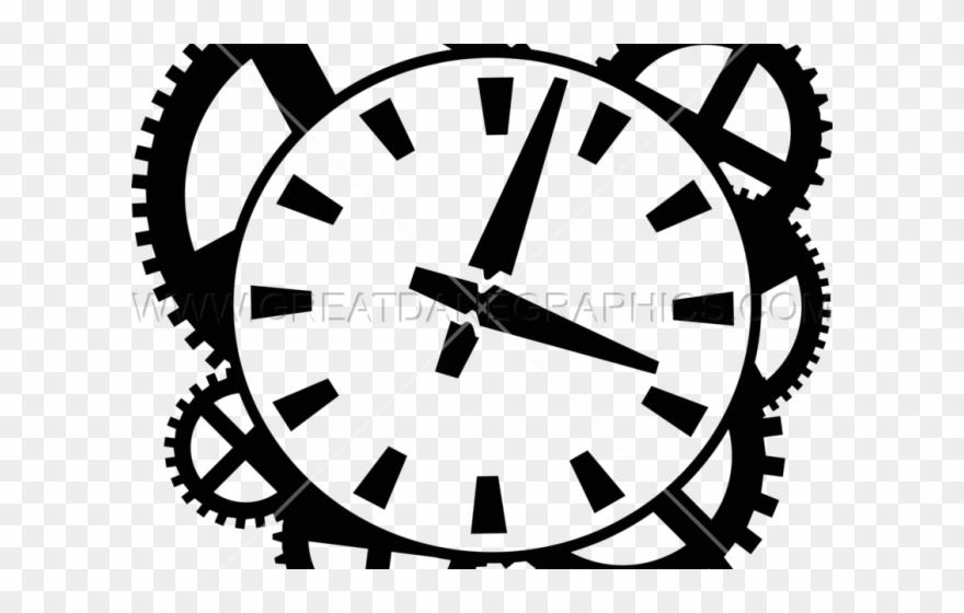 Gears clipart clock.