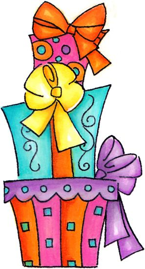 Gifts clip art.