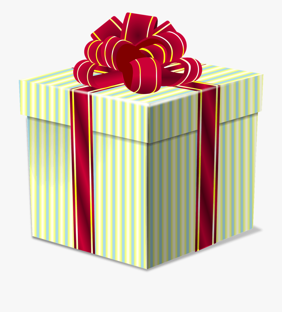 Christmas presents clip.
