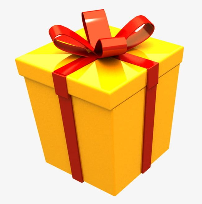 Yellow Gift Box PNG, Clipart, Box, Box Clipart, Boxes, Gift