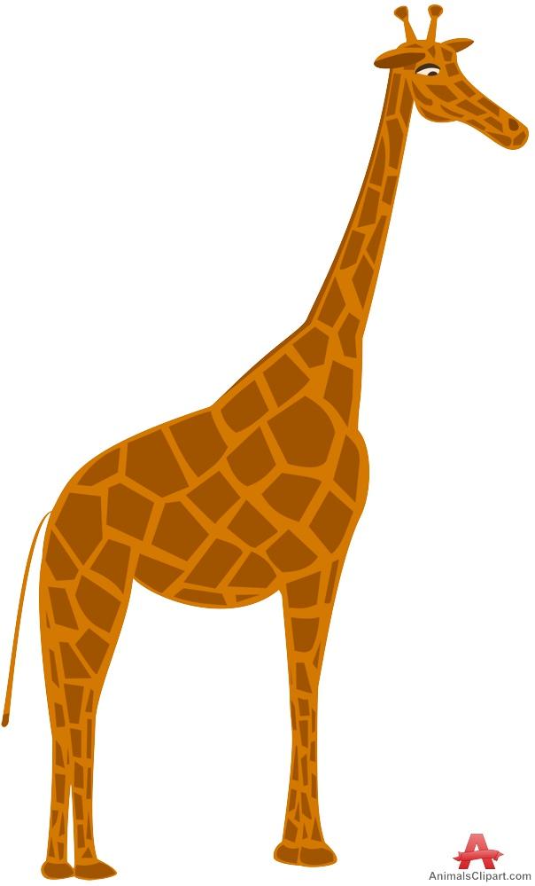Giraffe cartoon baby.