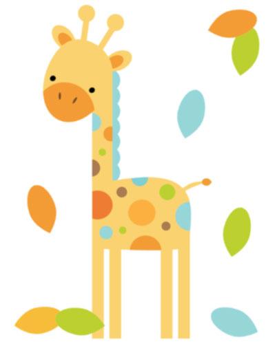 Giraffe baby shower.