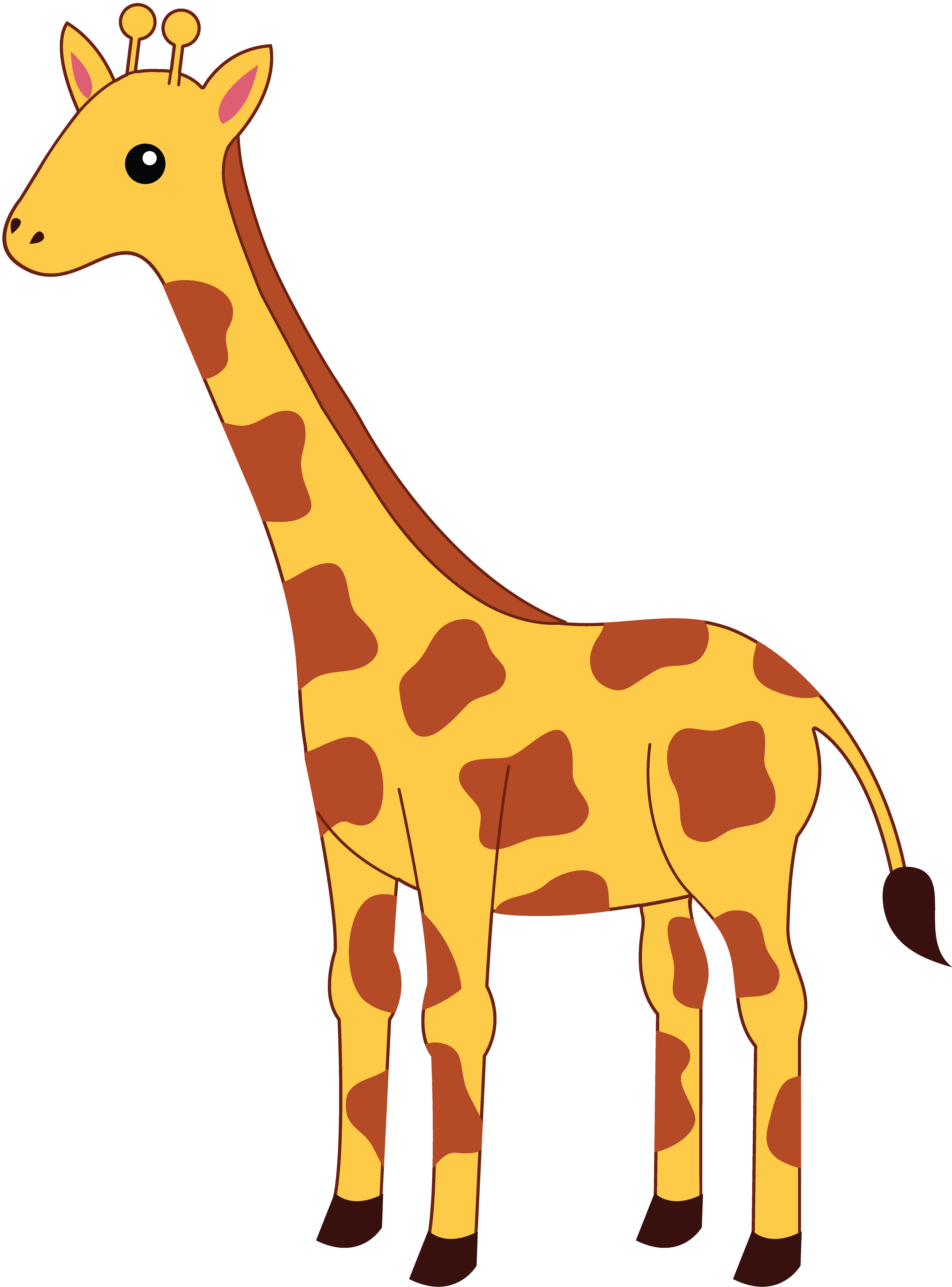 Free animated giraffe.