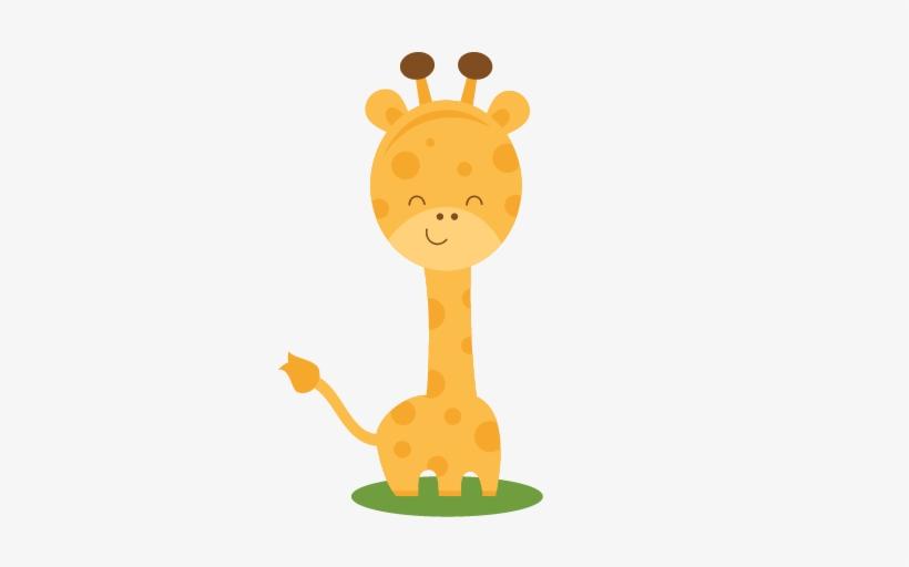 Giraffe clipart cute.