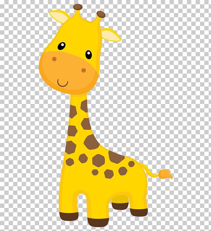 Giraffe wall decal.