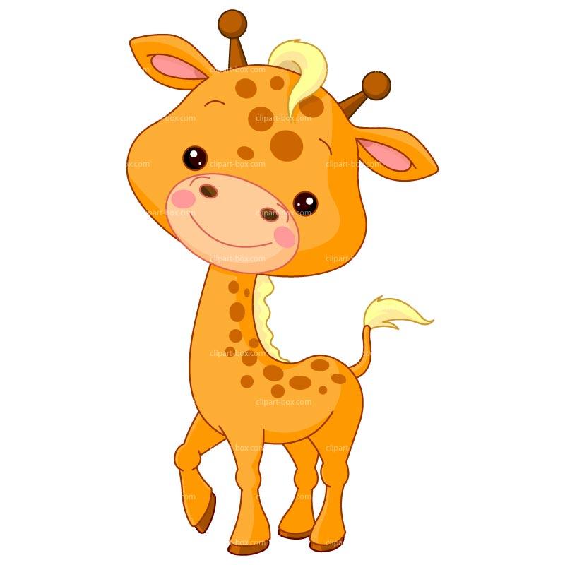 Clipart giraffe free.