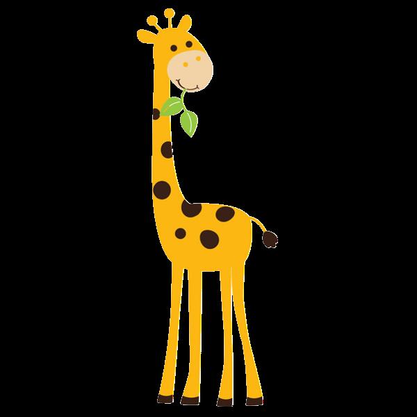 Kawaii clipart giraffe.