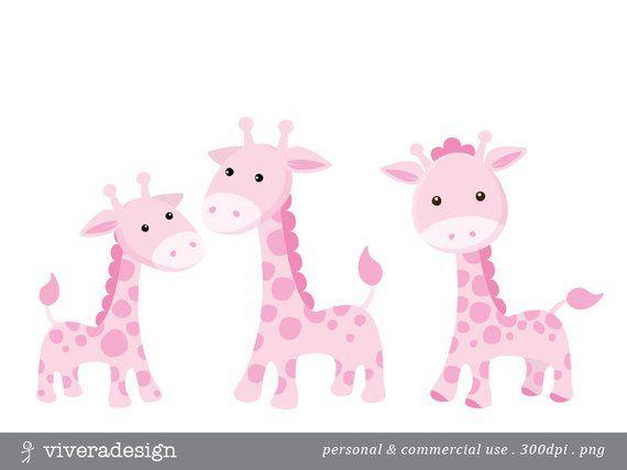 Cute pink giraffe.