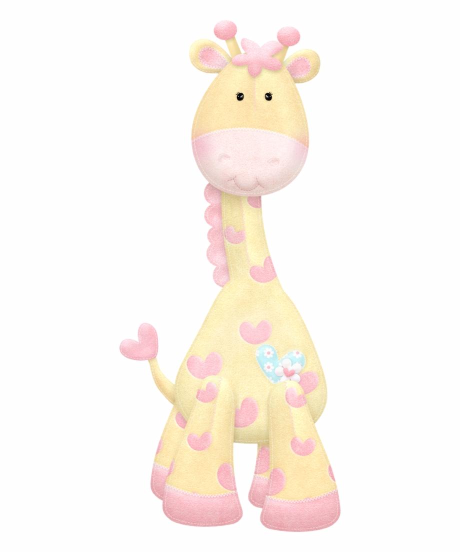 Girl giraffe clipart.