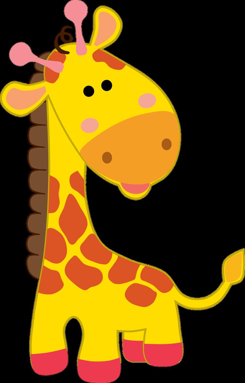 Giraffe clipart safari.