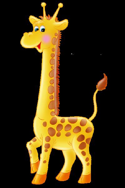 Simple giraffe outline.