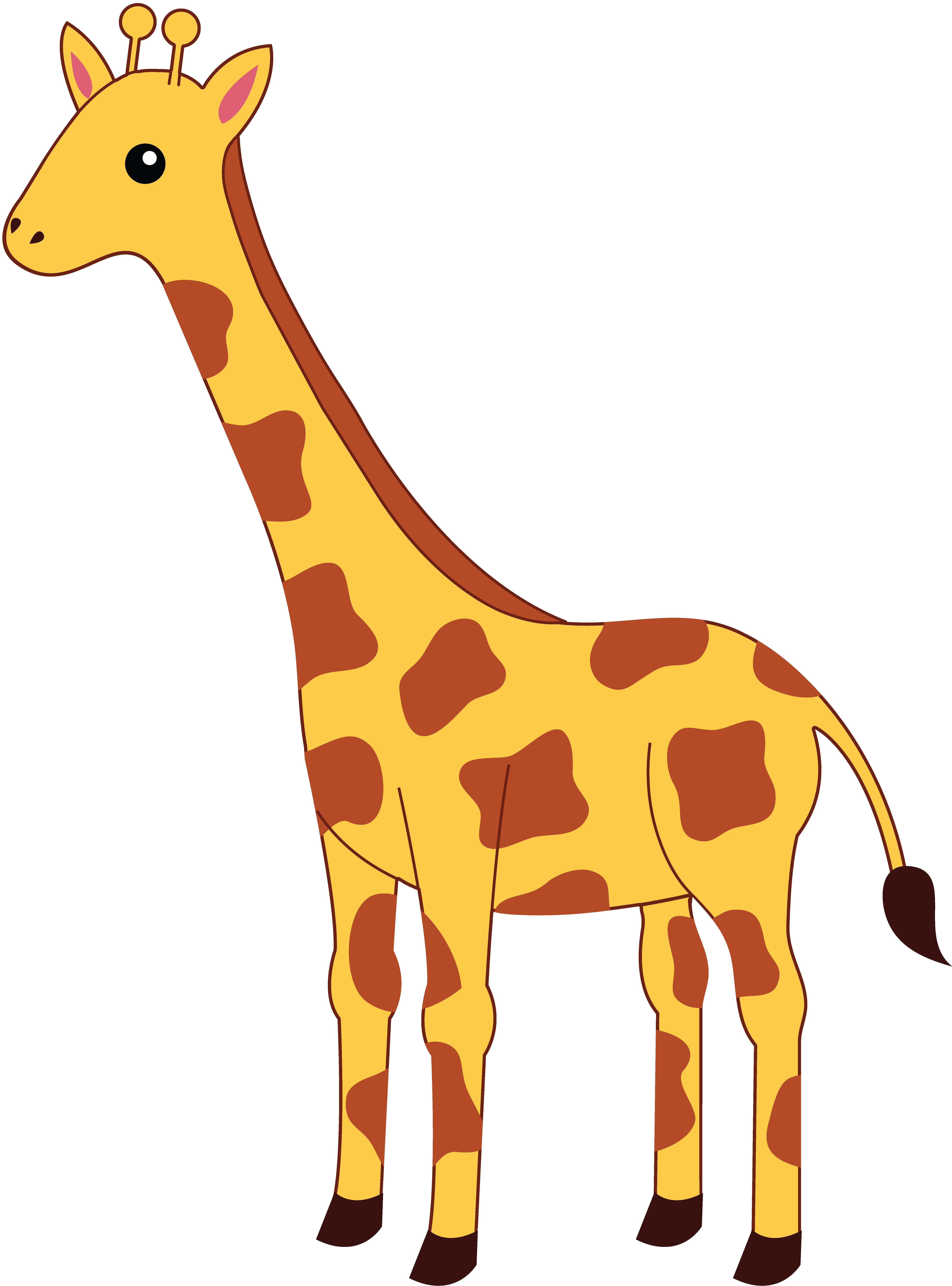 Pics cartoon giraffes.