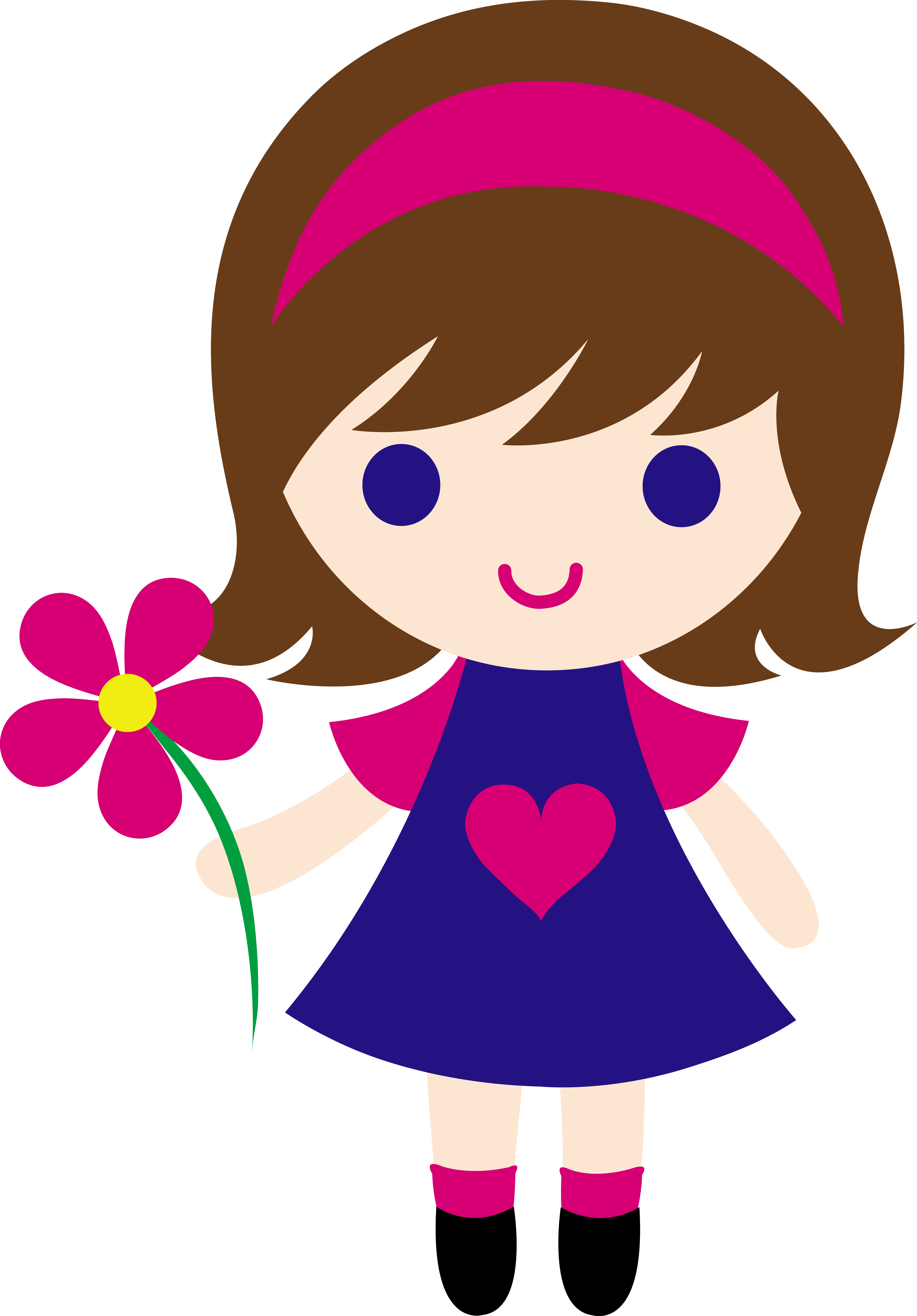 Girl clipart see.