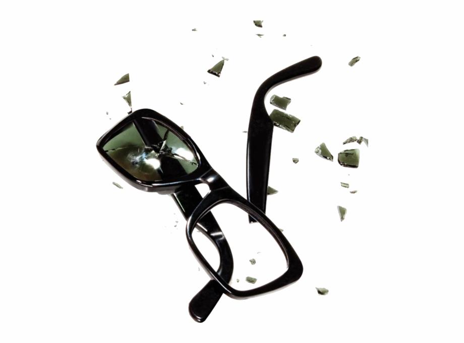 Broken sun glasses.
