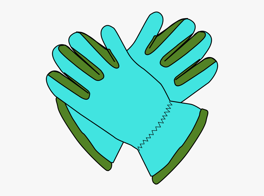 Gloves clipart gardening.