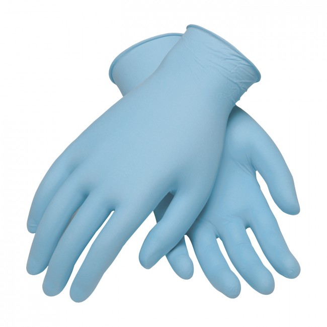 Free medical gloves.