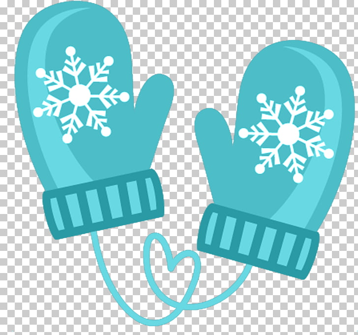 Winter gloves png.