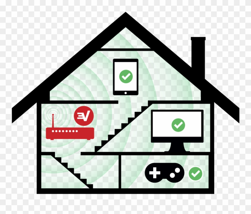 Setting clipart home.