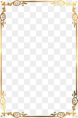 Golden Text, Golden, Frame, Decorate PNG Transparent Clipart