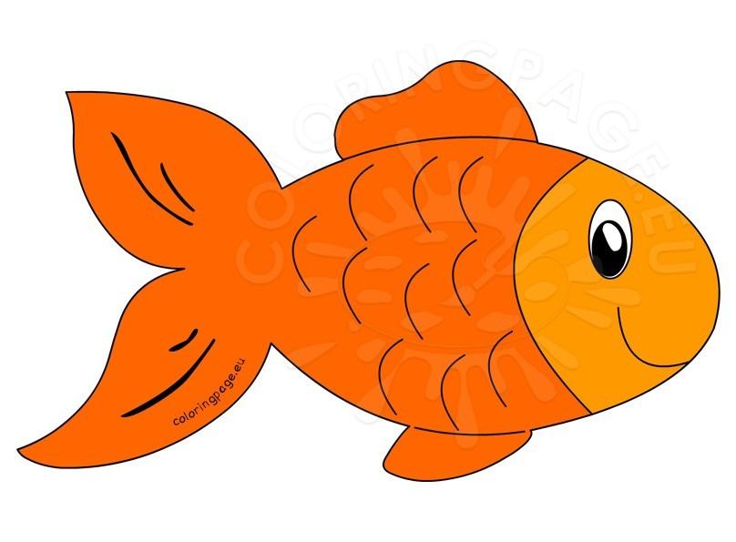 Goldfish clipart free.