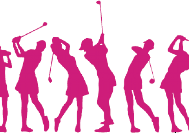 Ladies golf logo.