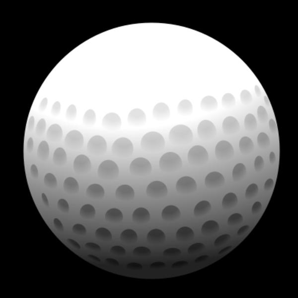 Golf clipart word.