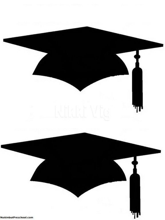 Printable graduation cap.