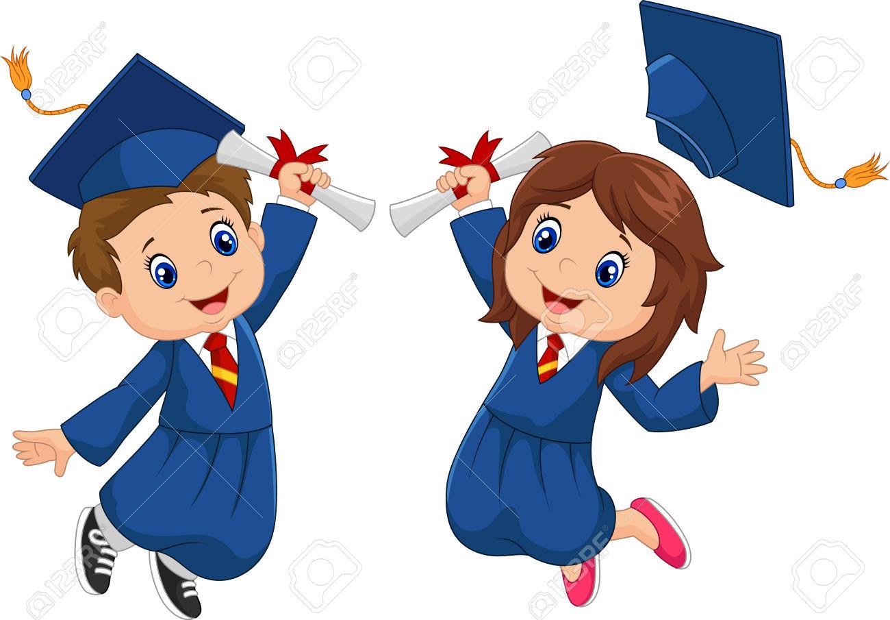 Graduationclipartkidvector4 st patrick.