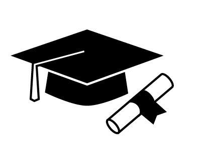 Free graduation black.