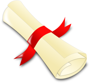 scroll clipart rolled up