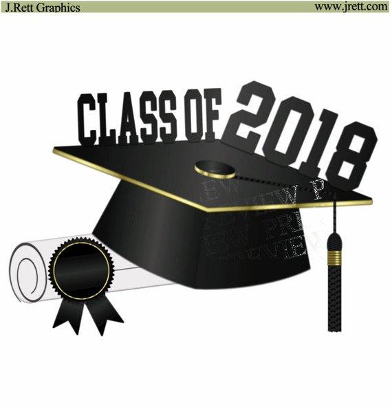 Class 2018 clipart.