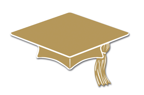 Free Graduation Gold Cliparts, Download Free Clip Art, Free