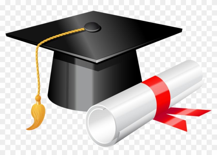 Graduation cap with.