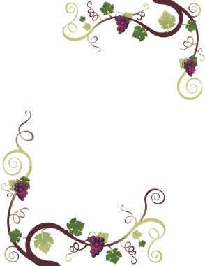 Grape border crafts.