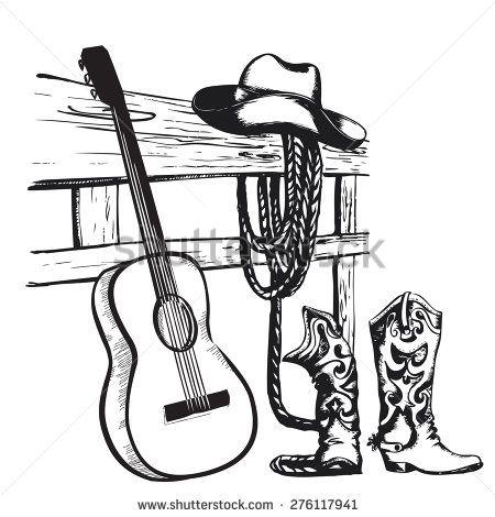 Country music guitar.