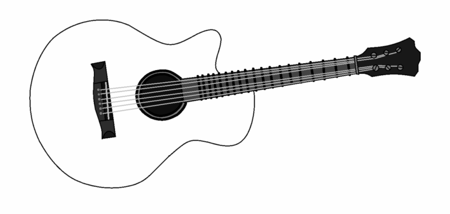 Country guitar png.