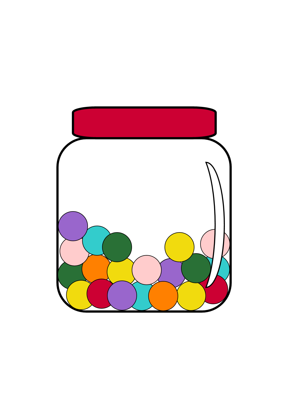 Jar Candy Clip art
