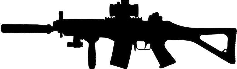 Free Military Rifle Cliparts, Download Free Clip Art, Free