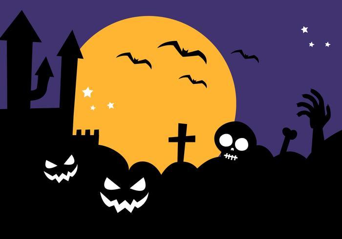 Free halloween background.