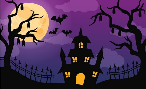 Halloween background images.