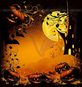 Halloween clipart background